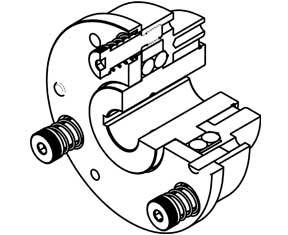 Cabat Inc. AO Automatic Clutch, overload torque-limiting clutch diagram